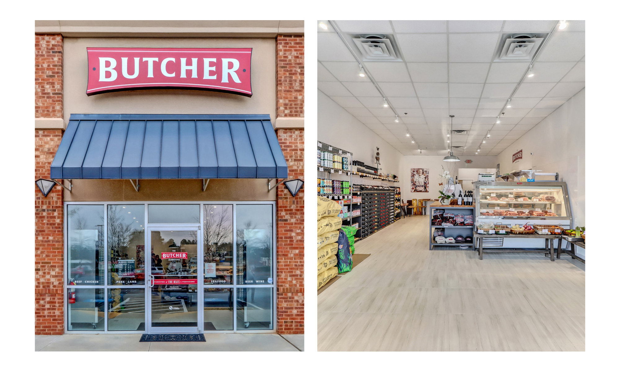 Grant Design Collaborative Creates Brand Experience for The Butcher on Whitlock