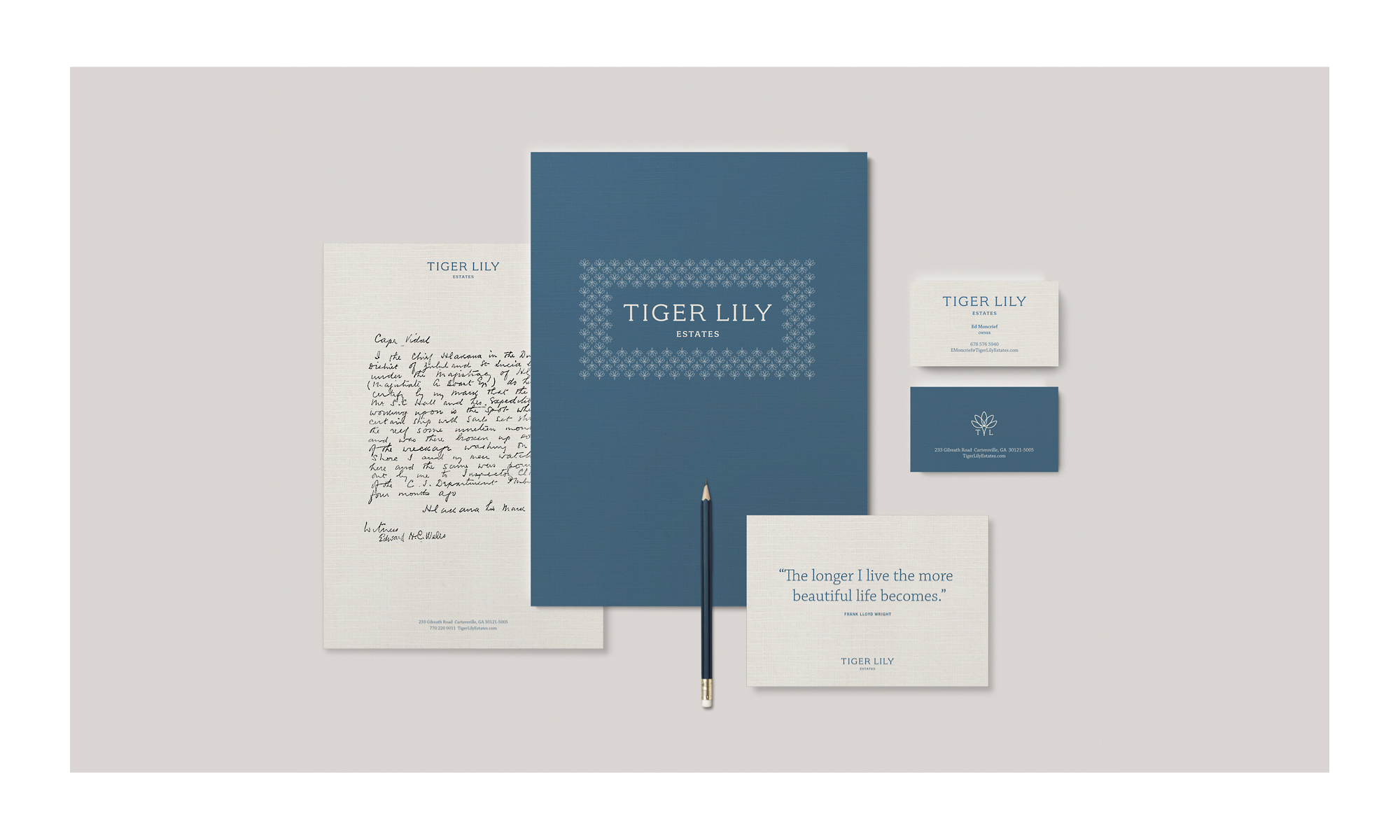 A New Brand for Tiger Lily Estates